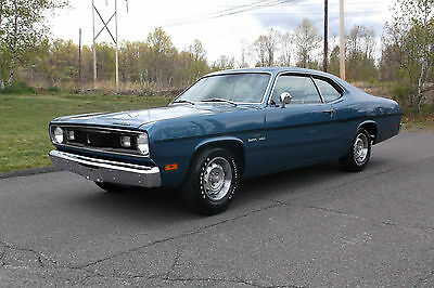 1970 Plymouth Duster Coupe Numbers Matching, 4spd, Build Sheet, 30,000 Original Miles, Investment Quality