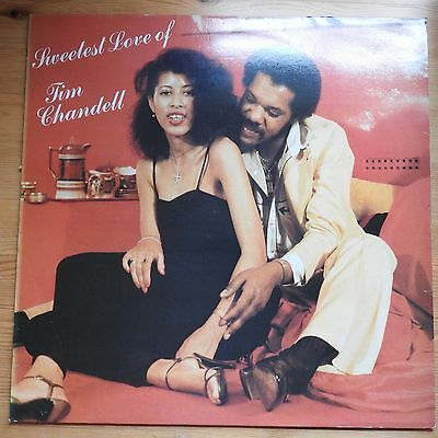 Sweetest Love of Tim Chandell  LP vinyl reggae VG+/VG+