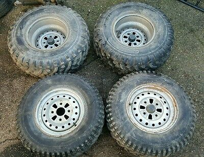 Honda Trx 450 Foreman 12 inch wheels and tyres