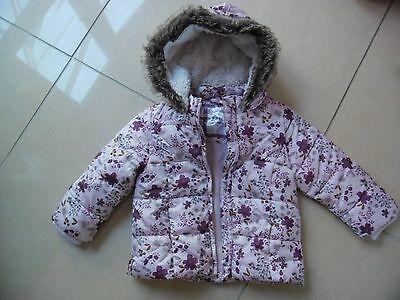 Girls floral jacket by F&F age 2-3