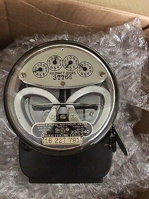 Vintage G.E. electric meter type I-16 ( 291432124965 )