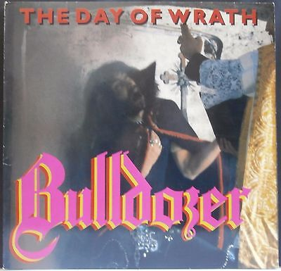 Bulldozer - 'the Day Of Wrath' Lp - Mint Original - Metal