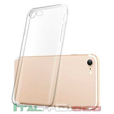 Custodia per iPhone 7 TPU Gel Cover Case Thin Transparente Ultra Slim Fina