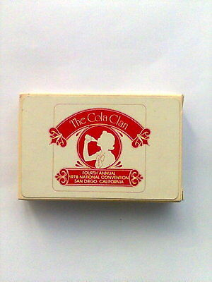 1978 Coca Cola Collectors Club 4th National Convention Deck Playing Cards