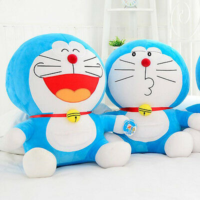 "10"" New Japanese Doraemon Cartoon Cat Doll Plush Stuffed Toy Robot Manga"