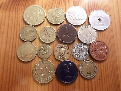 Selection of 16 Tokens (Bargain)