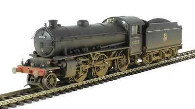R3305 Hornby BR Early Crest Class K1 62059 (Weathered) Locomotive - New & Boxed