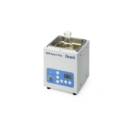 Grant Instruments SUBAQP2US Water Bath Digital 2L, NEW
