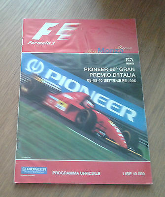 1995 Italian Grand Prix Official Programme
