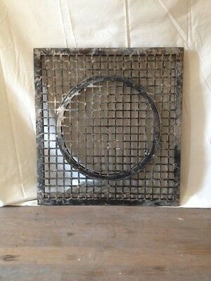 Antique Cast Iron Turn-of-the-Century Heating Grate