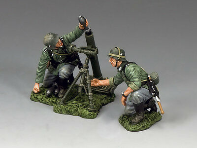 King and Country Wehrmacht Mortar Team WH017