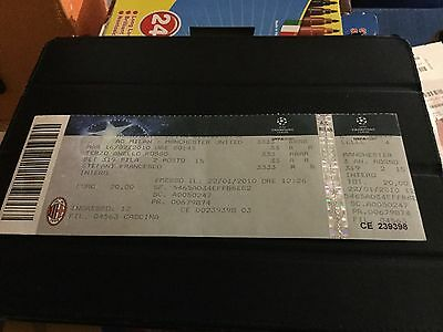 Ticket Milan - Manchester United Champions League 2009-2010