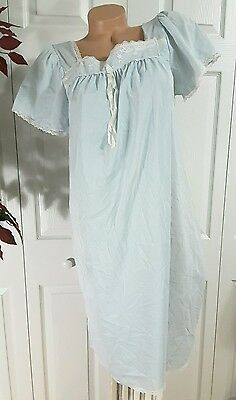 Maternity Nursing Gown Delivery Hospital nightGown by Fancee Free tricot nylon M