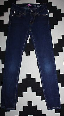 Girls Authentic 7 Seven for all Mankind Skinny Jeans - 6 - 7 Years