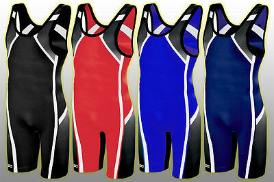 ASICS Men's Conquest Wrestling Singlet, 3XL (250-280 Lb) MSRP $60.00