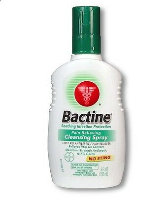 bactine spray 5qz