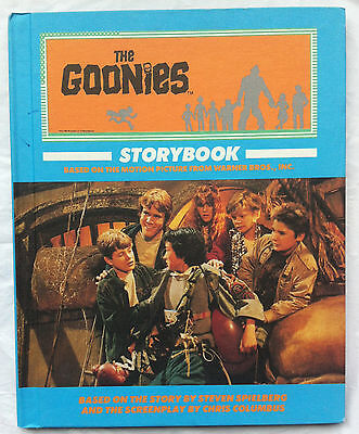 The Goonies Motion Picture Storybook 1985 Warner Bros Hardcover