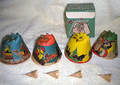 Vintage Whirl-Glo Revolving Christmas tree light shades