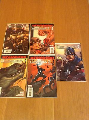 Marvel Comics - The Ultimates 3 - Issues #1-5 - Full Set - Great Condition