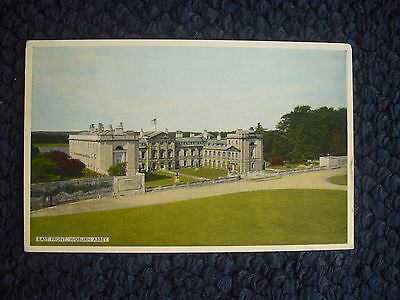 Postcard East Front, Woburn Abbey, Bedfordshire