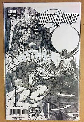 Moon Knight #1 David Finch Sketch Variant Cover Nm+