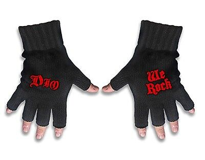 DIO Fingerless GLOVES Official We rock