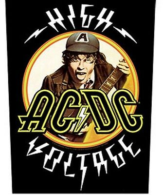 AC/DC BACK PATCH New Official HIGH VOLTAGE