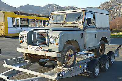 "1978 Land Rover 88"" - 4 Cyl Blue"