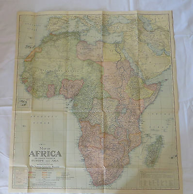 National Geographic Map Africa October 1922 (F3)