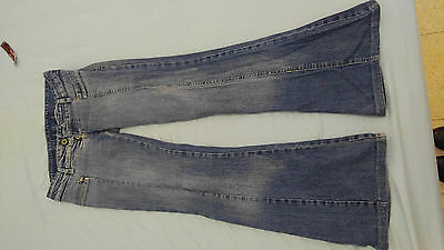 blow rubbed womens vintage jeans low weist