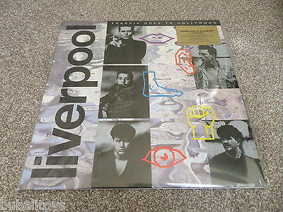 Frankie Goes To Hollywood - Liverpool LTD Anniversary Silver LP Vinyl Record NEW