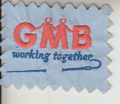 Gmwu Gmb Clothing Workers Section General Workers Trade Union Badge