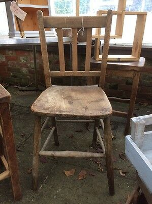 Vintage Retro School Chapel Chair