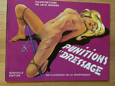 Curiosa - Punitions Et Dressage Illustrations Jack Rhodes - Rare