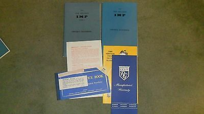 Hillman Imp + Mark11 Handbooks+More