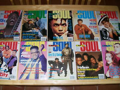 BLUES & SOUL  Magazines - 10 issues from 1992 - NORTHERN SOUL