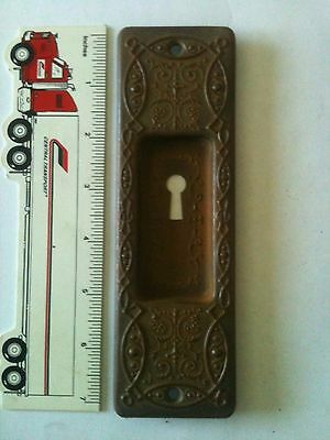 Antique Door Lock Plate