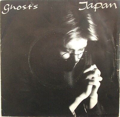 """Japan - Ghosts / The Art Of Parties - 7"""" vinyl single - picture sleeve"""
