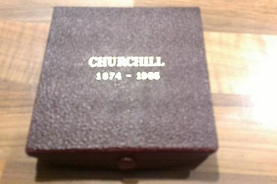 """No Reserve ## Winston Churchill Medal """"very Well Alone"""""""