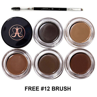 Anastasia Beverly Hills Dipbrow Pomade Make Up Dip Brow Pomade + FREE #12 Brush