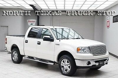 2007 Ford F-150  2007 Ford F150 Lariat 4x4 V8 Super Crew Leather 1 TEXAS OWNER