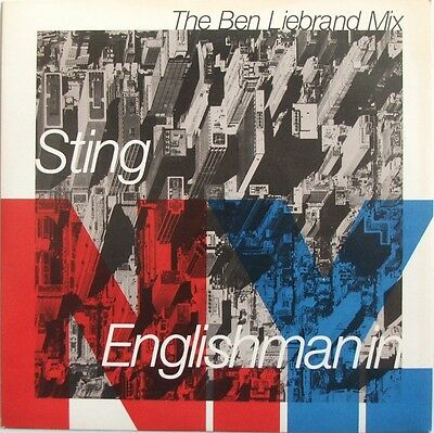 """Sting - Englishman In New York - 7"""" vinyl single - picture sleeve"""
