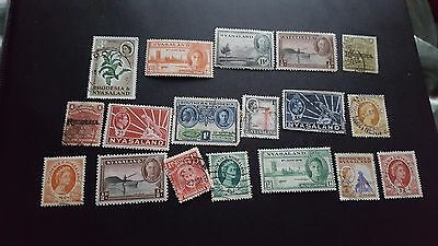 rhosesia  good stamps collection mhog/used   ms160