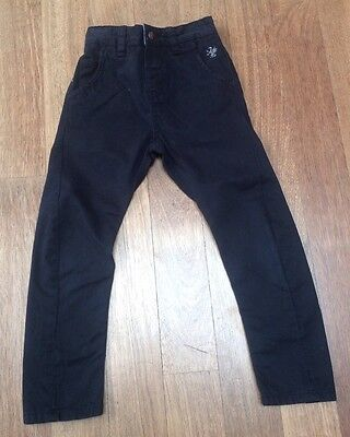 Boys Next Pairs Of Black Chinos/Jeans. 5 Years