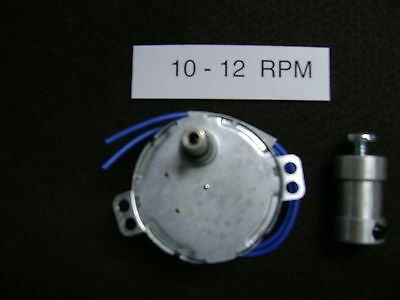 10 - 12 RPM Dryer-Drying Motor with  SHAFT COUPLER