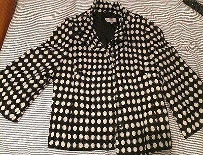 Black And White Spotty Coat