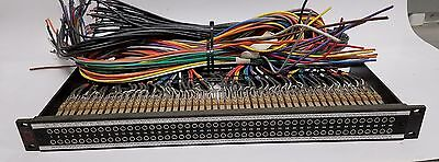 AVP 96 point  2X48 patchbay cabled