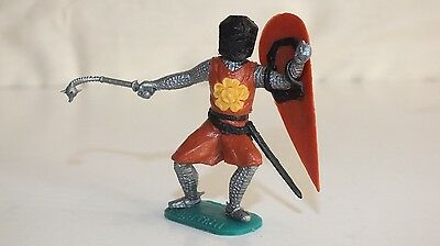 Vintage TIMPO Plastic Swoppet Medieval Knight 1970's