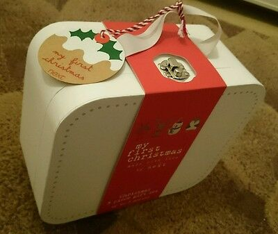 Next Baby My first Christmas gift set 3 piece set BNWT in giftbox