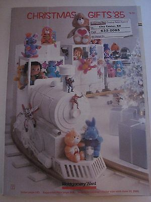 Vintage 1985 Montgomery Ward Christmas Catalog CHIRSTMAS GIFTS '85 489 Pages